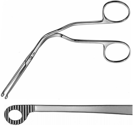 AE-AN380R, MAGILL, CATHETER INTRODUCING FORCEPS, MEDIUM, FOR CHILDREN, 200 mm, 8""