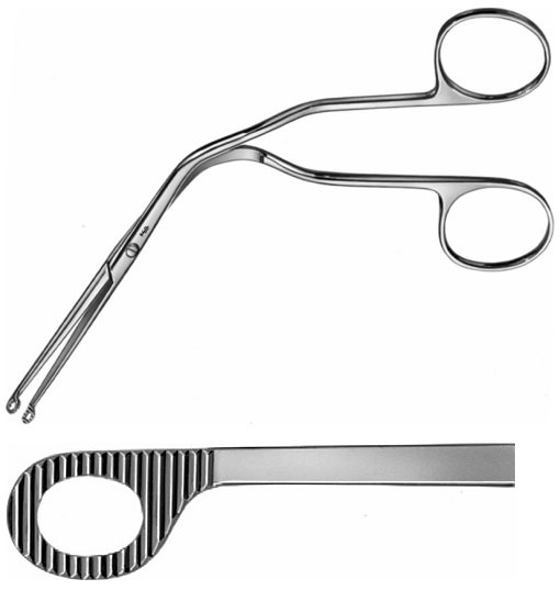 AE-AN381R, MAGILL, CATHETER INTRODUCING FORCEPS, LARGE, FOR ADULTS, 250mm, 10""