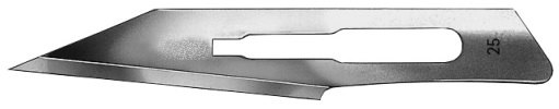 AE-16616634, CUTFIX SCALPEL BLADES 	FIG. 25, STAINLESS, PAK = PACKAGE OF 100 PIECES IN DISPENSER PACKAGE