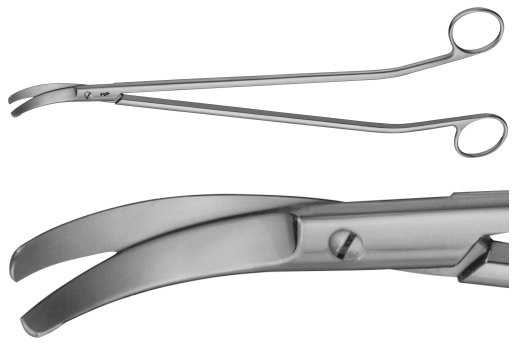 AE-BC627R, MÜLLER 	RECTAL SCISSORS 	S-SHAPED 	325 mm, 13""