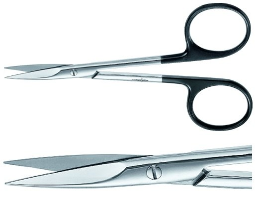 how to cut with scissors straight