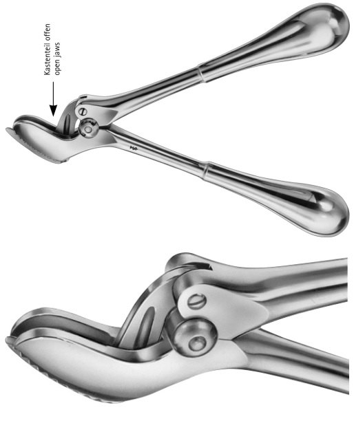 AE-LX574R, STILLE-AESCULAP 	PLASTER SHEARS 	OPEN JAWS 	260 mm, 10 1/4""