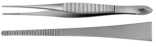 AE-BD213R, GILLIES 	DISSECTING FORCEPS 	 	150 mm, 6""