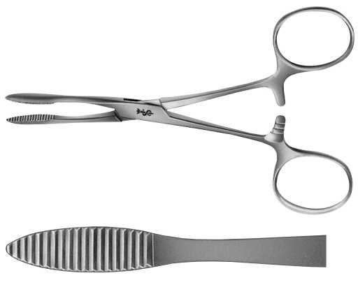 AE-BH302R, PEAN 	ARTERY FORCEPS 	STRAIGHT 	125 mm, 5""
