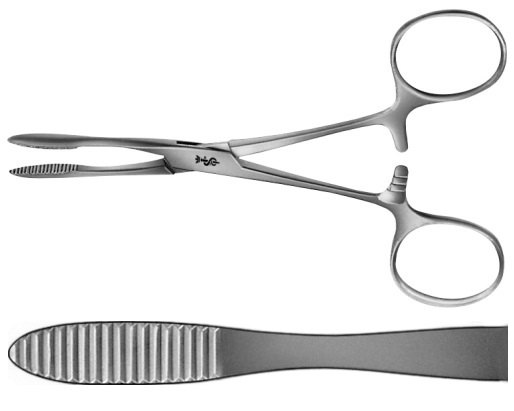 AE-BH304R, PEAN 	ARTERY FORCEPS 	STRAIGHT 	140 mm, 5 1/2""