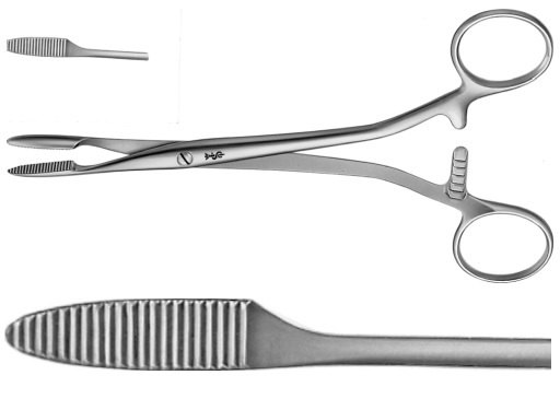 AE-BH318R, PEAN 	ARTERY FORCEPS 	STRAIGHT 	185 mm, 7 1/4""