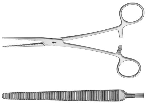 AE-MD468, COLLER 	ARTERY FORCEPS 	STRAIGHT 	185 mm, 7 1/4""
