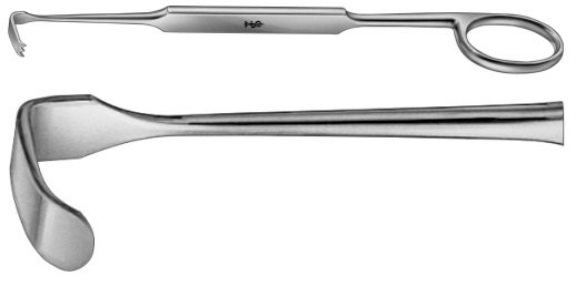 AE-BT193R, MEYERDING RETRACTOR FIGURE A, 18X7MM 180 mm, 7""