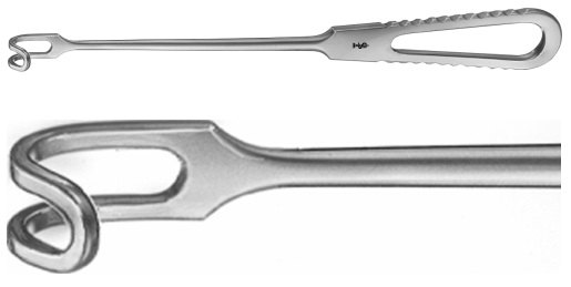 AE-BT400R, DURHAM RETRACTOR 16 x 25 MM 215 mm, 8 1/2""
