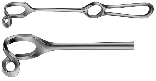 AE-BT404R, MIDDELDORPF RETRACTOR 15X15 MM 220 mm, 8 3/4""