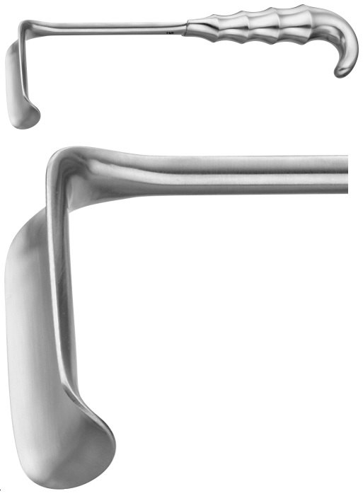 AE-BT479R, RICHARDSON RETRACTOR 65X41MM 260 mm, 10 1/4""