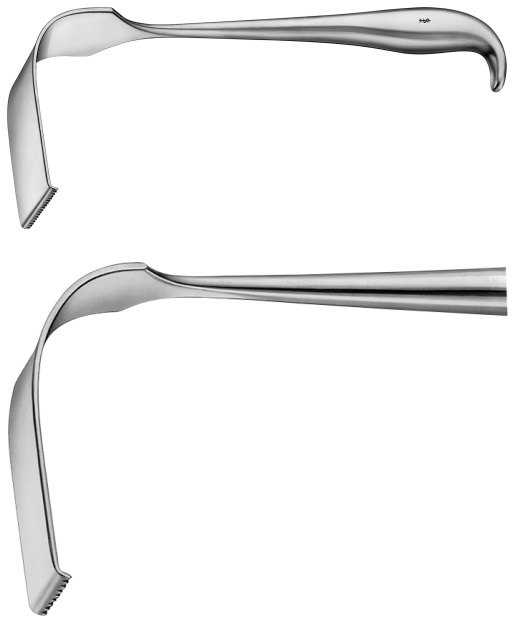 AE-BT486R, MEYERDING RETRACTOR 76X25 MM 230 mm, 9""
