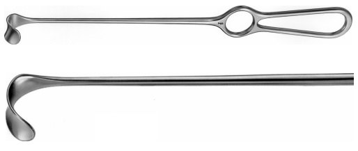 AE-BT490R, KOCHER- WAGNER RETRACTOR 20X15MM 280 mm, 11""