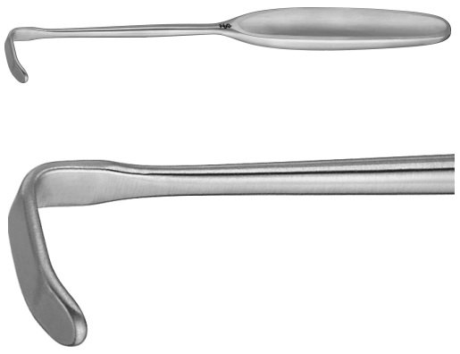 AE-MB785R, LAHEY RETRACTOR 24X8MM 200 mm, 8