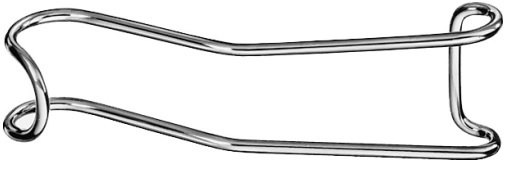 AE-OM252R, STERNBERG CHEEK RETRACTOR  130 mm, 5""