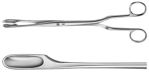 AE-ET301R, WINTER, PLACENTA AND OVUM FORCEPS FIGURE 1, STRAIGHT 290 mm, 11 1/2""