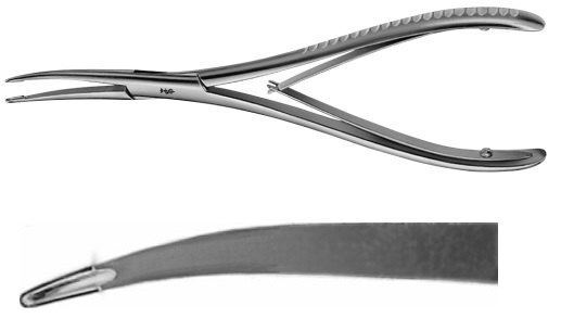 AE-FO399R, STELLBRINK, SYNOVECTOMY RONGEUR, 175 mm, 7""