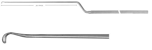 AE-FF608R, HARDY-FAHLBUSCH, DISSECTOR, SHARP, LEFT, 245 mm, 9 3/4""