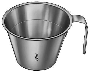 AE-JG515R, MEASURING CUP, WITH FOOT, GRADUATED, 0.1L