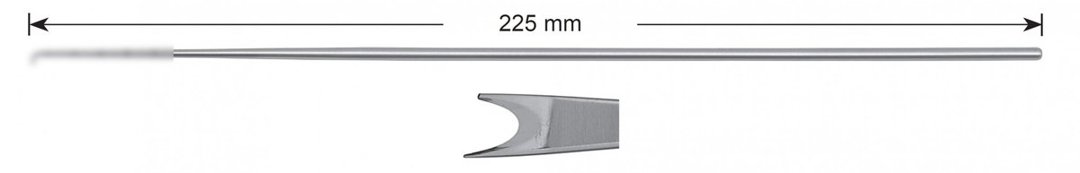 LW-49-0469, Meniscotome 7.0 mm, Stems alone, length 225 mm
